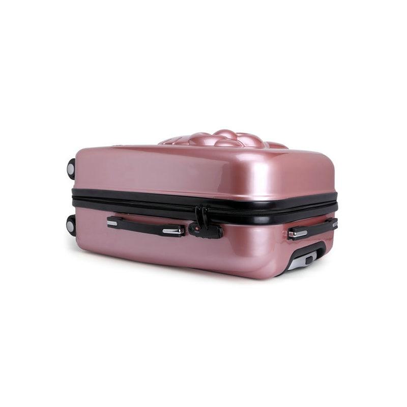 Flickor Hello Kitty Trolleyväska 3D Cartoon Trolley Bagageväska - Väskor för bagage och resor - Foto 6