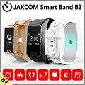 Jakcom b3 banda inteligente nuevo producto de pulseras como para xiaomi mi talkband miband 2 reloj inteligente de frecuencia cardíaca y la presión arterial