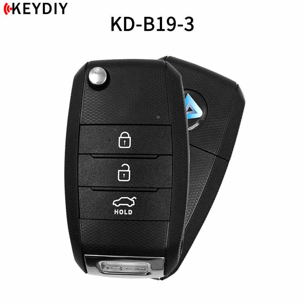 KEYDIY KD900 B19-3/4 key For KD-X2/URG200 Key Programmer B Series Remote Control For KIA