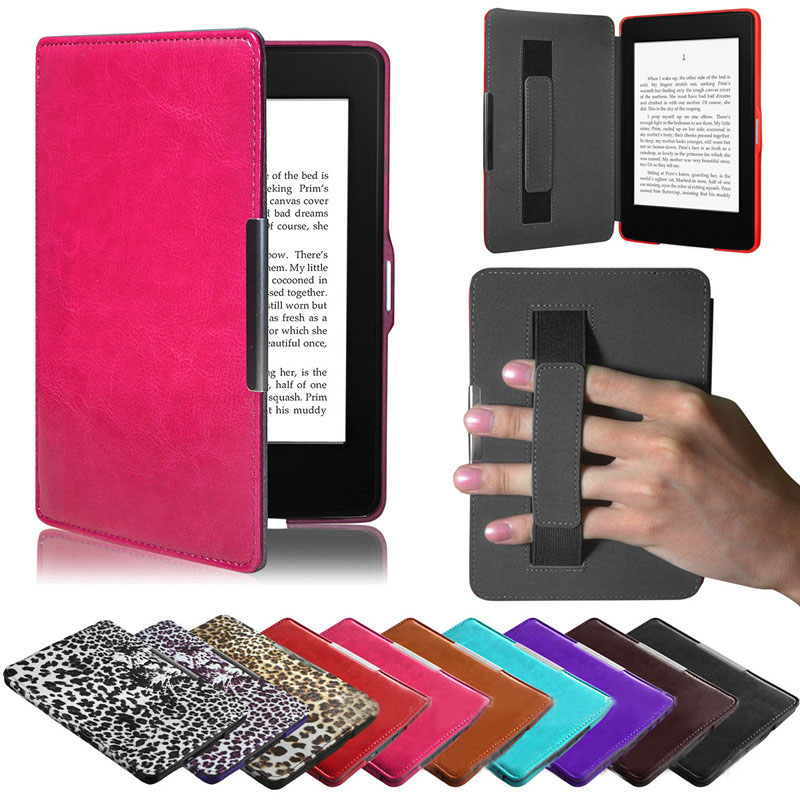 Protective-Case Paperwhite Amazon Kindle Smart-Case-Cover Ultra-Slim For 5--Yl Durable