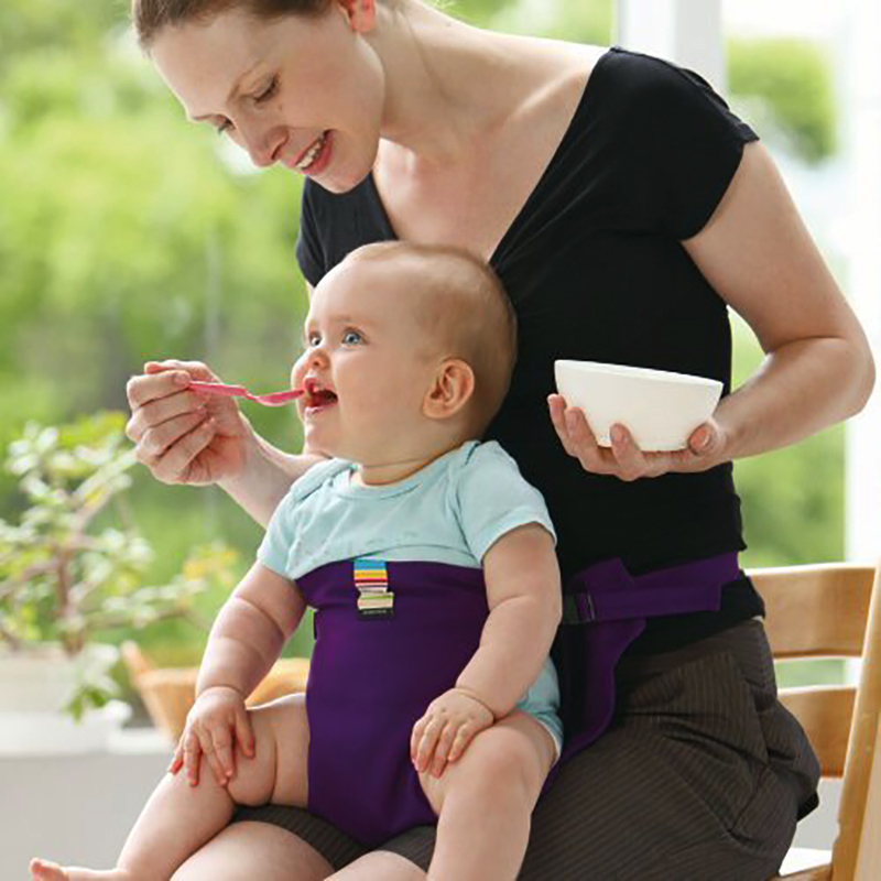 Baby Dining Chair Safety Belt Baby Portable Seat Washable Travel Foldable Wrap Feeding Harness Chair Harness Kids Booster Seats