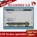 Gread + 13.3 ''СИД B133XW02 V.0 LED Панель Для HP CQ32 CQ35 CQ36 CQ325 для Lenovo Z360 G360 G360A Z360G ноутбук