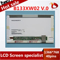 Gread A+13.3'' Laptop LED B133XW02 V.0 LED Panel For HP CQ32 CQ35 CQ36 CQ325 for Lenovo Z360 G360 G360A Z360G laptop
