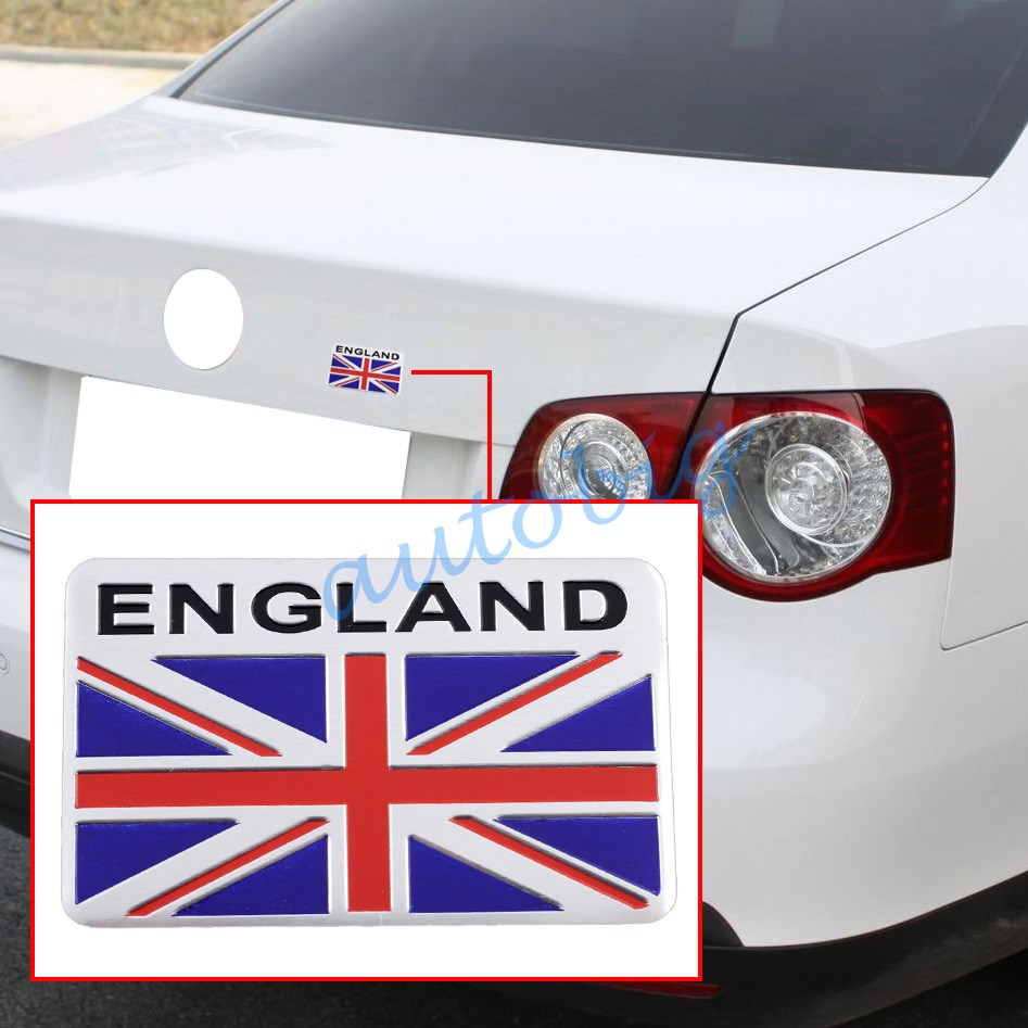 Bumper sticker creator uk - Badge Emblem Sticker Decal Uk United Kingdom England Flag Styling Decoration Car Motors Parts 3d