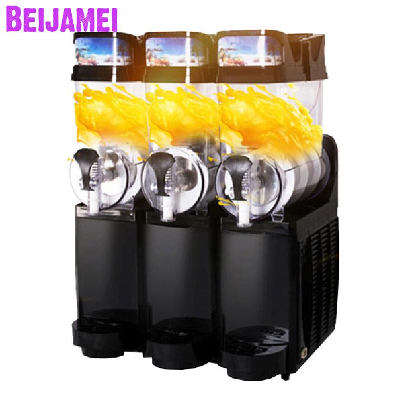 Beijamei 2019 Beverage Ice Machines Electric Slush Maker Commercial Snow Melting Snow Slushy Machine Price