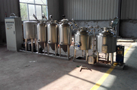 2018 Super Customized Stainless Steel Microbrewery Beer Brewery Equipment Brewing 100L