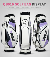 High quality!PGM women Complete Golf Set Bag Golf Caddy Bag, golf cart bag staff golf bags.water proof. Super Anti Friction PU