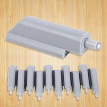 10Pcs/Lot Open Door Damper System Case Cabinet Drawer Hinge Buffer Push to Catch Plastic Tips