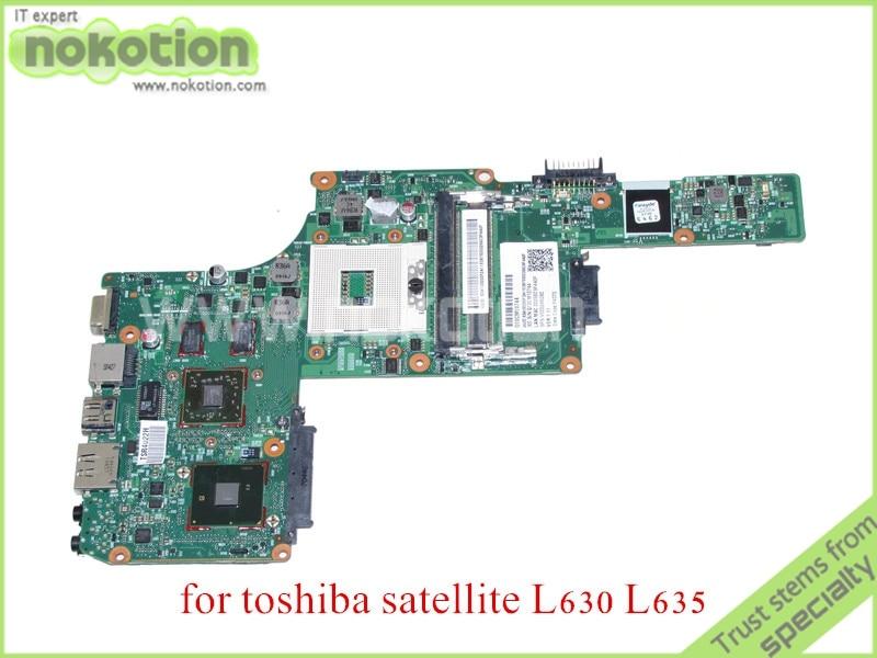 все цены на  NOKOTION SPS V000245030 For toshiba satellite L630 L635 Laptop motherboard HM55 DDR3 HD 5430m  онлайн