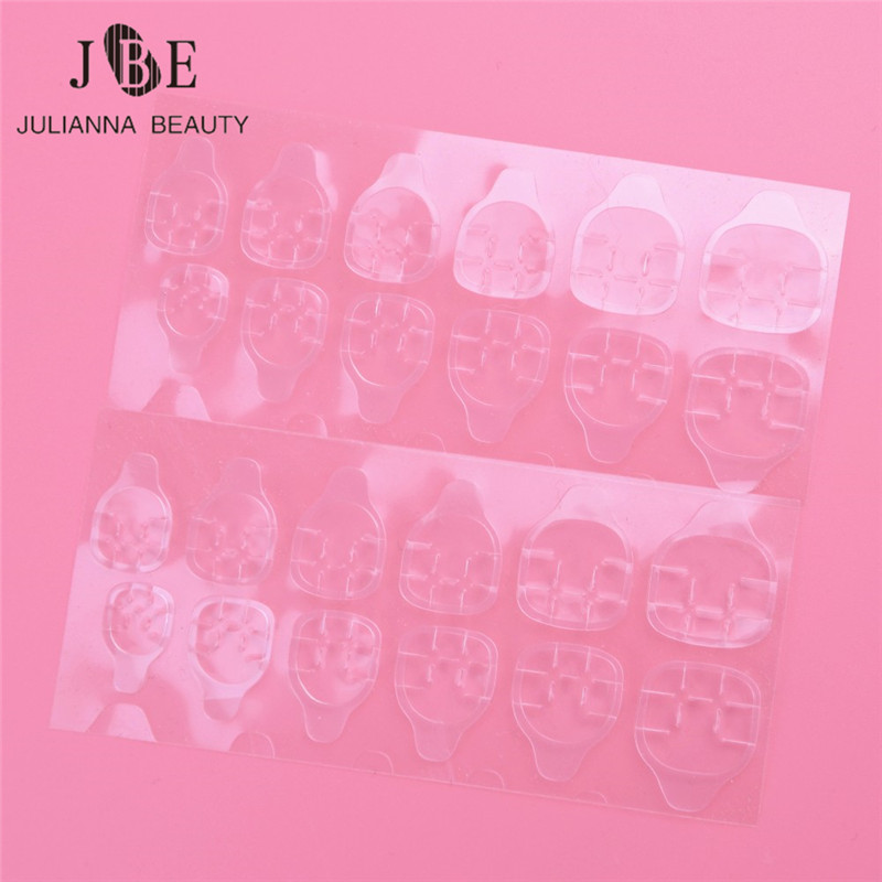 10Sheet/Lot One-Off Double Side Adhesive Glue Sticky Tape For Pregnant Women Fal