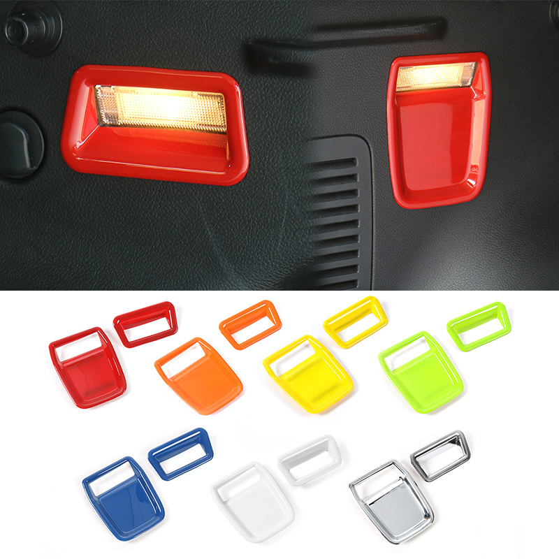 MOPAI Candy Color ABS Exterior Rear Trunk Light Decoration Cover Stickers For Jeep Renegade 2015 Up Car Styling цена и фото