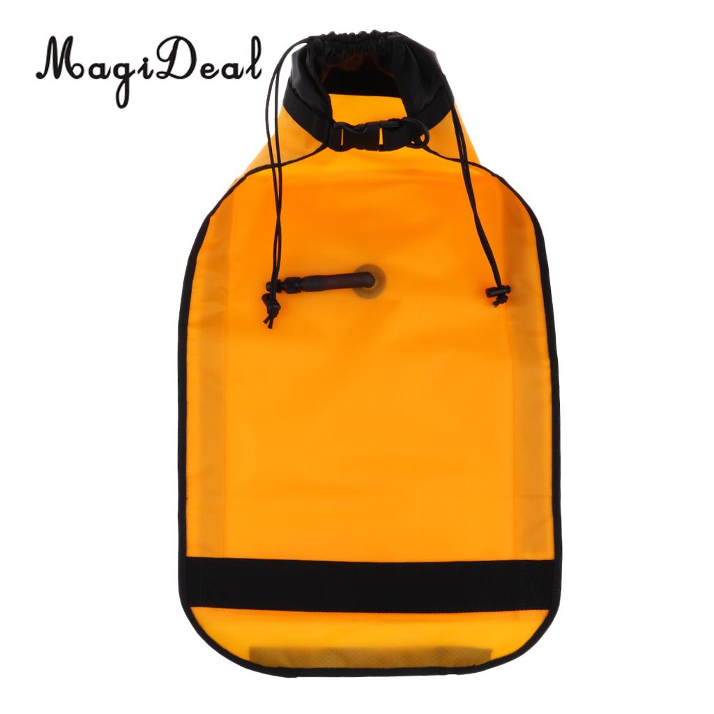 MagiDeal Dual Chamber Inflatable Paddle Float Bag with Quick Release Buckle for Sea Kayak Paddle Blades
