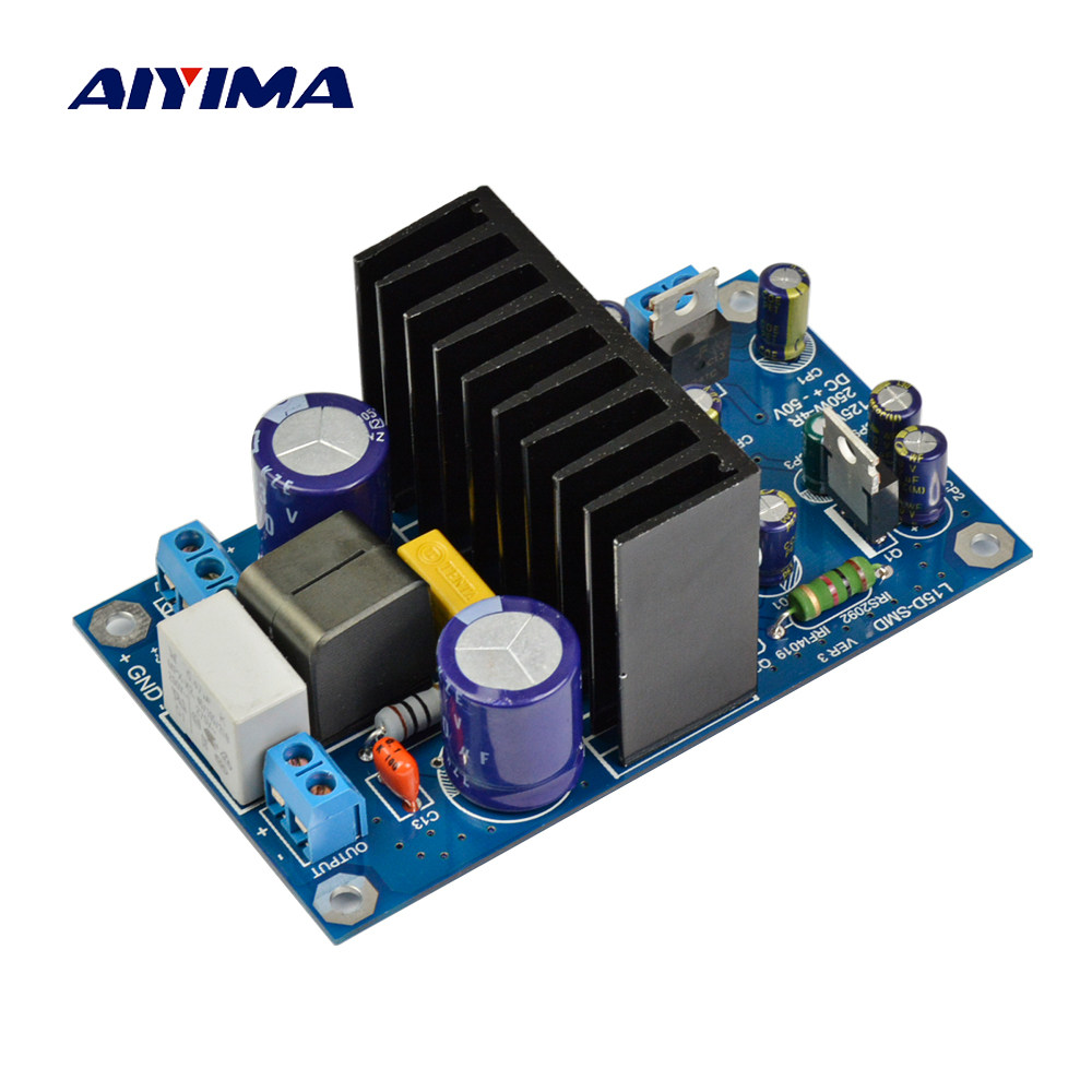Online Shop 2x 125w Irs2092 Watt 8 Ohm Class D Audio Amplifier Board Wholesale 80w Stereo Circuit Design Tda7498 Aiyima L15dsmd Irs2092s 250w Digital Mono