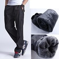Grandwish Winter Fleece Pants Men Plus Size 3XL Warm Men's Thick Pants Fleece Outside Heavyweight Men's Fleece Pants, PA784