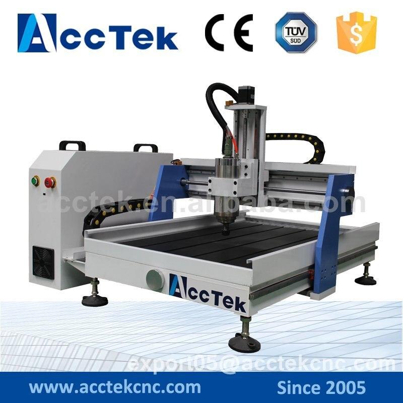 AKG6090 desktop Woodworking Engraver Machine hobby cnc router by Jinan AccTek  model 3d cnc machine 6090 woodworking cnc router for sale
