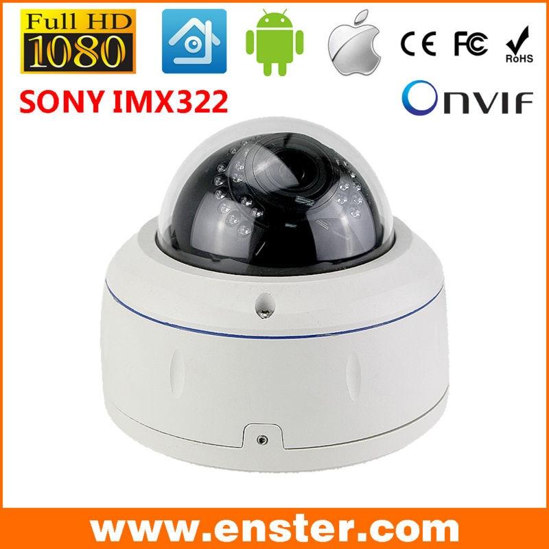 ФОТО Enster IP Camera 1080P Security HD Network CCTV Camera 2 MegaPixel Indoor outdoor Network IP Dome Camera ONVIF H.264 Free Ship