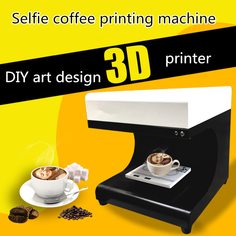 Edible ink coffee printer printing machine latte art coffee printer china manufacturer selfie latte cappuccino coffee printer coffee and food printer inkjet printer selfie coffee printer full automatic latte coffee printer with 8 inch tablet pc