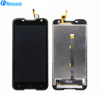 Black For Blackview BV5000 LCD Display Touch Screen Digitizer Assembly Replacement Parts For Blackview BV5000 LCD