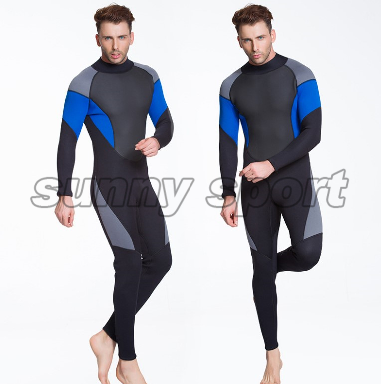 26f6518ecf Aliexpress.com   Buy Diving suit outdoor 3mm semi dry diving suit neoprene  one piece wetsuit free diving suit Men s stitching Large size from Reliable  ...