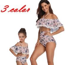 New Girls Kids Bikini Set Sexy Women Swimwear Swimsuit Mother Daughter Child Swimming Swim Suit Beachwear Bathing Wear UK