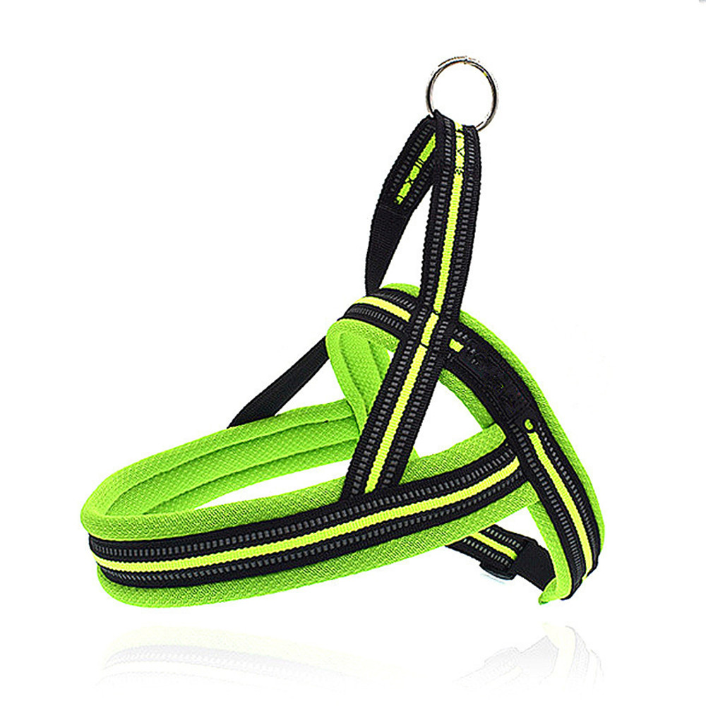 Puppy Dog Leashes Harness Flexible Pet Harness Mesh Summer Breathable Doggy Kitten Training Tools Dogs Reflective Harnesses 2018