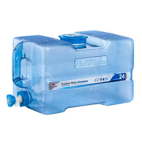 24l balde tanque de agua de grande capacidade ao ar livre recipiente de agua portatil