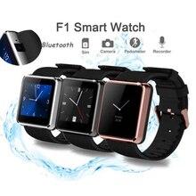 Bluetooth Smart Watch F1 Sport Waterproof Montre Wristwatch Smartwatch Sync Call SMS Pedometer Camera Play For Smartphone