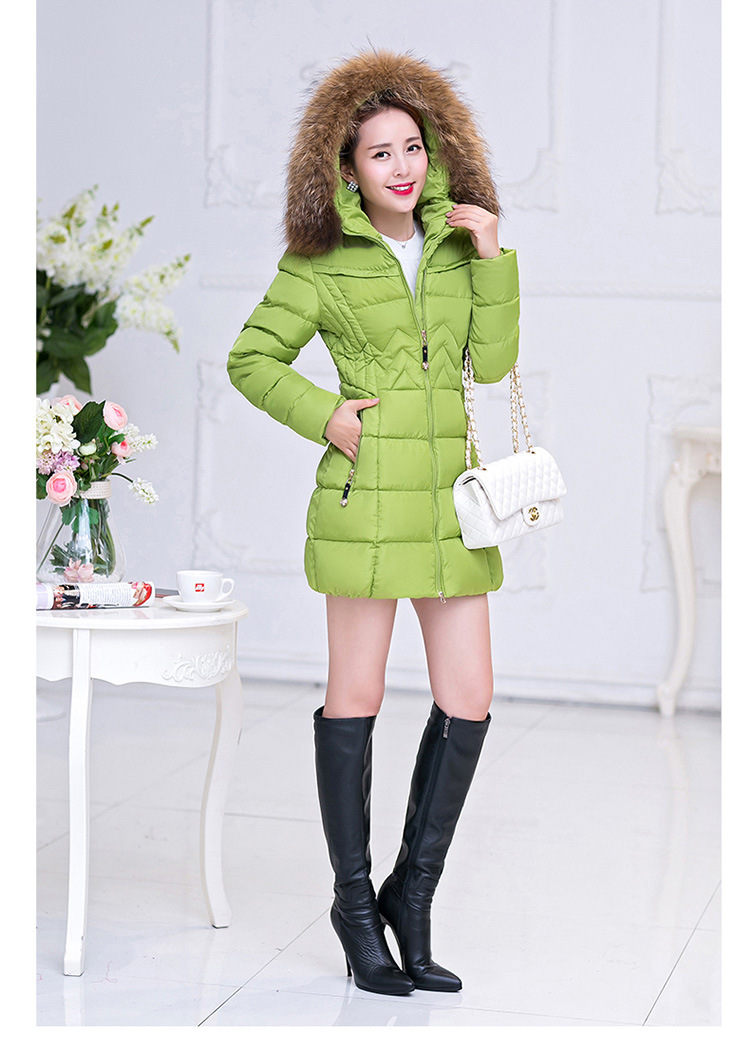 M 4XL New Women Faux Fur Hooded Winter Thick Warm Parka Wadded Jacket Female Cotton Jacket