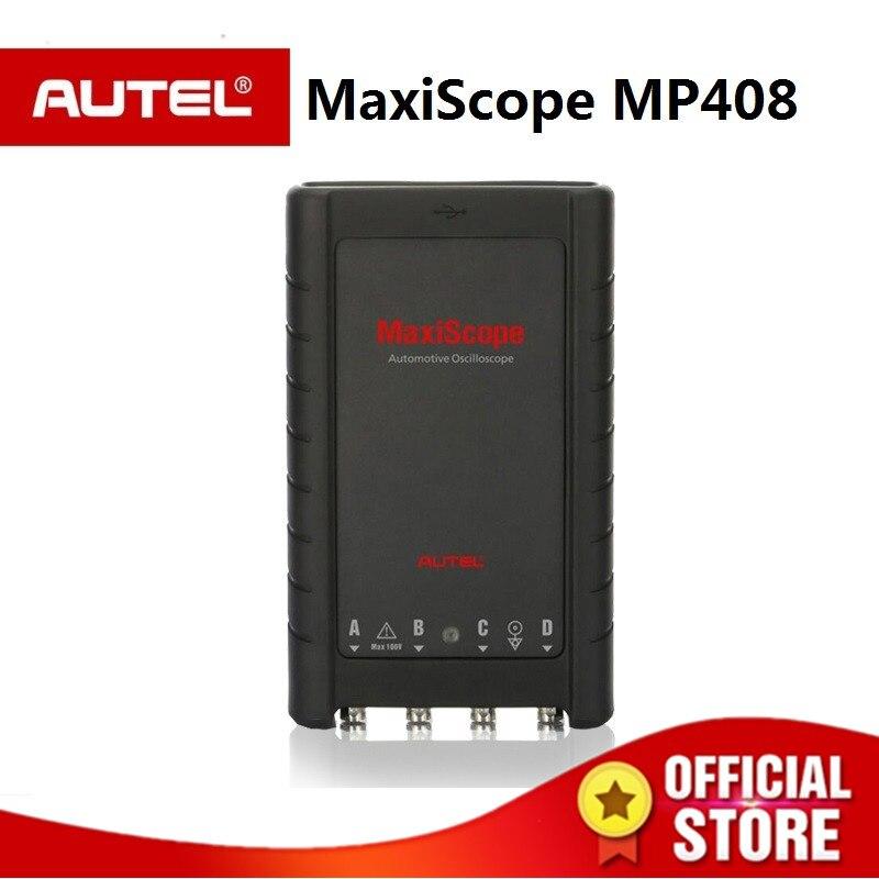 AUTEL MaxiScope MP408 De Base Kit 4 canal oscilloscope automobile travail avec PC et Maxisys Lit et affiche signaux électriques