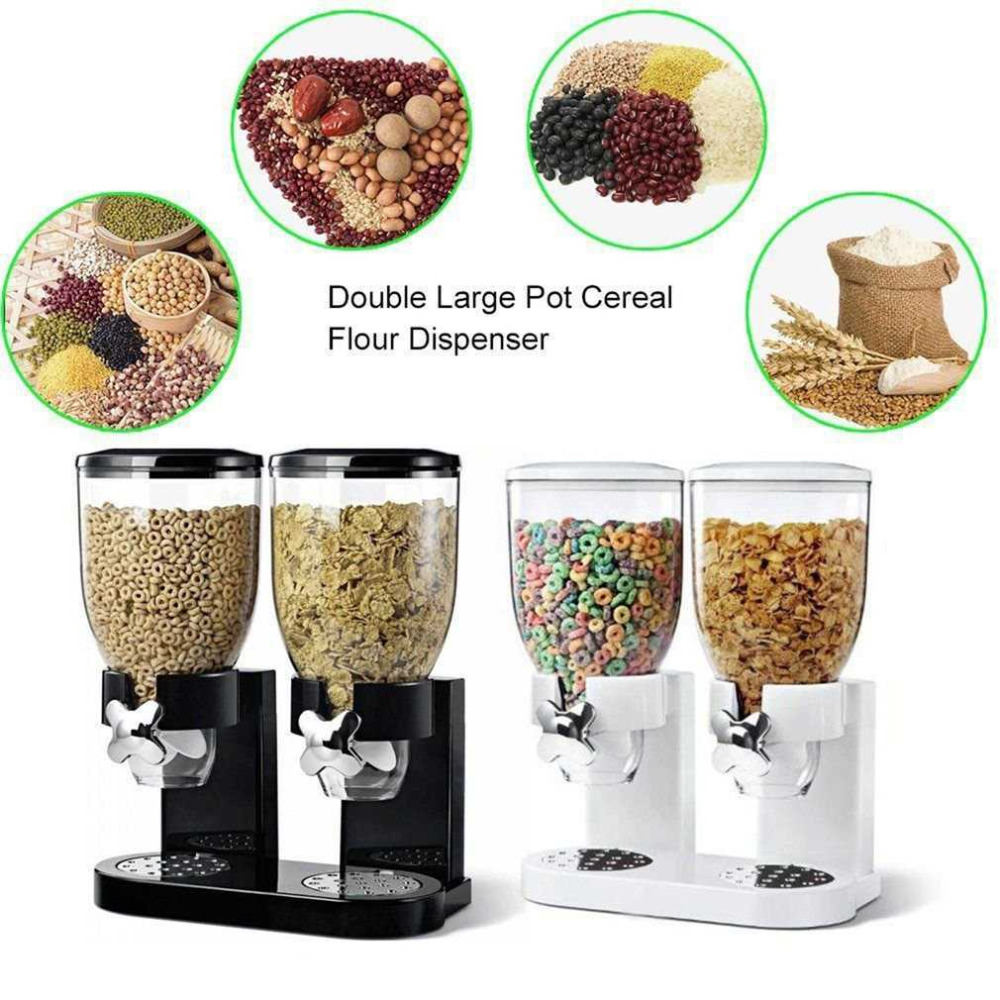 Multifunctional Pasta Cereal Dry Food Dispenser Storage Container Dispense Household Kitchen Machine Food Storge Bottles