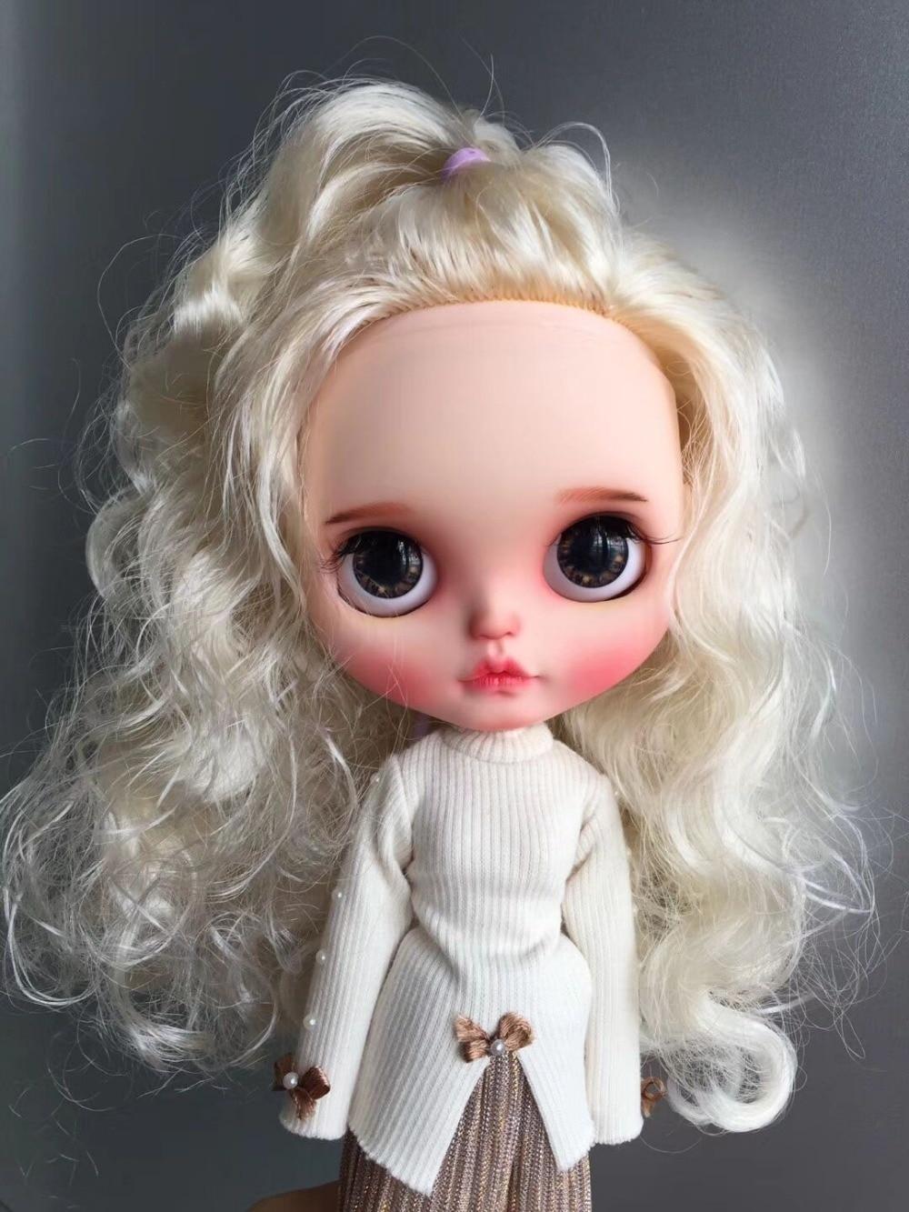 カスタマイズ人形ヌードブライス人形かわいい人形 20190306  グループ上の おもちゃ & ホビー からの 人形 の中 1