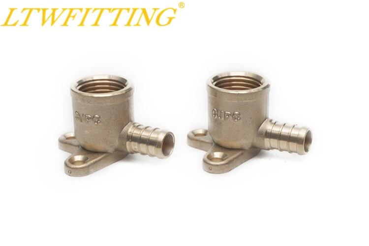 цена на LTWFITTING Lead Free Brass PEX Crimp Fitting 1/2