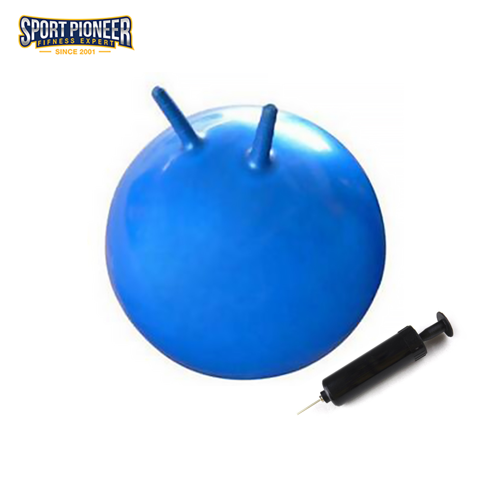 45cm Anti-burst Jumping Ball Space hoppare Gym Ball Cavel Ball Skippy Ball för barn