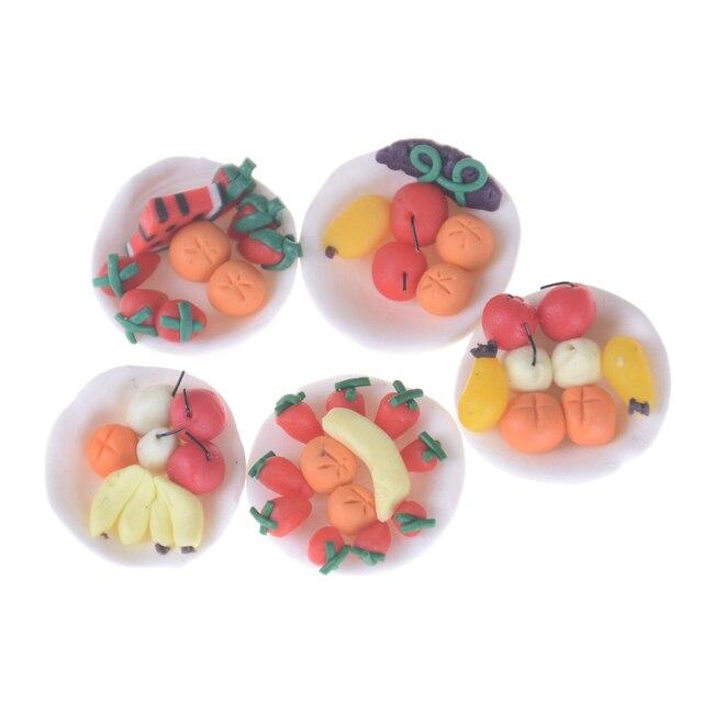 Nowy Slodkie Owoce Wypieki Warzyw Scen Dekoracji Zabawki Kreskowki