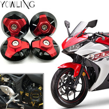 Motorcycle Accessories frame hole covers Fairing body work Bolts Screws For yamaha YZF-R3 yzf r3 r300 r25 r250 2013 2014 2015 цена