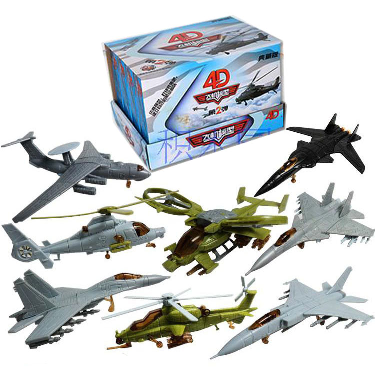 Beautiful 3d Fighter Model Aircraft Paper Model Assemble Military Fighter Planes Sand Table War Helicopter Model Gift For Children Boys Model Building