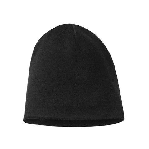 الرجال النساء 100% سوبر غرامة ميرينو قبعة شتوية من الصوف قبعة عكسها التدريب تشغيل الشتاء الحرارية الصوف قبعة متماسكة الرياضة دافئ دافئ