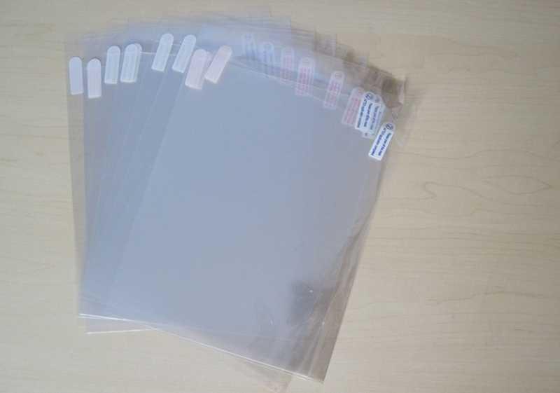 "10 stks Clear Screen Protector voor Cube iwork1X iwork 1X11.6 ""Tablet PC Beschermfolie Geen Retail Pakket 295*175.5mm"