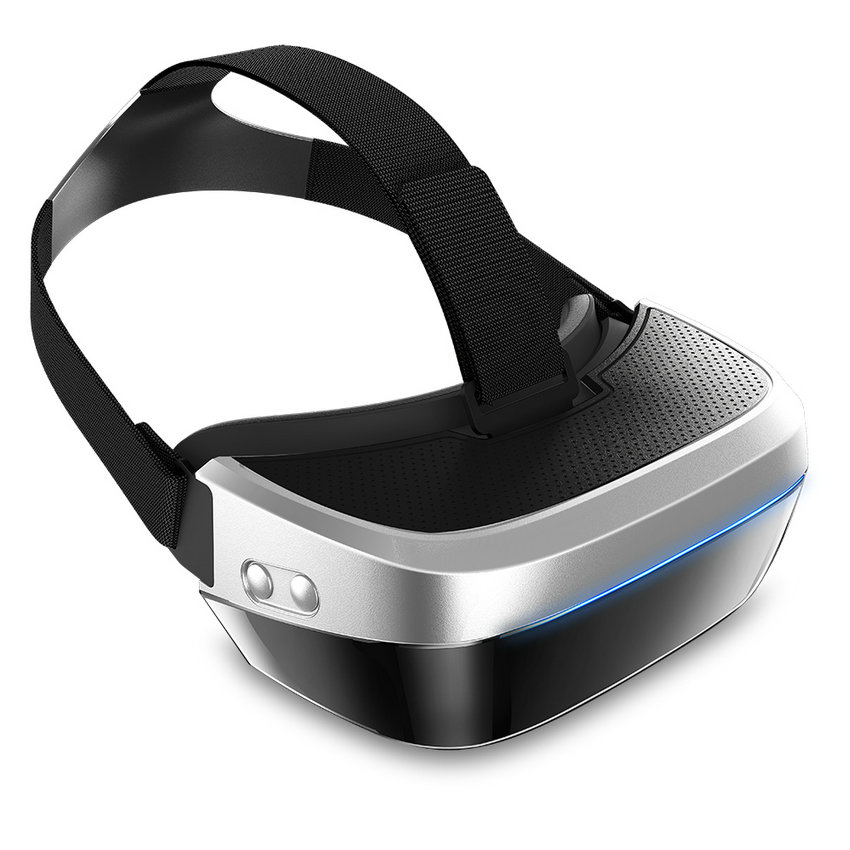 VR Syzet Realiteti Virtual HMD-518 1080P 3D Video Video Lojë Syzet Kinema Private Mobile Kinema Personal Lojë Lojë + 8G TF