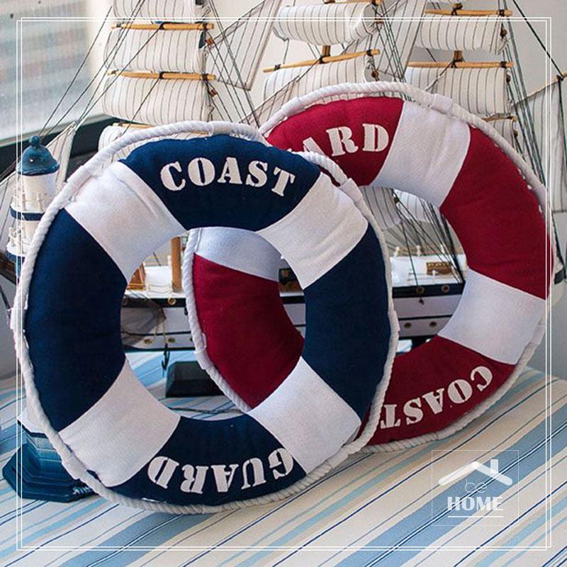 të jetë në shtëpi Arritja e re me cilësi të lartë 3D Jeta Ring Unaza jastëk Contton Navy dhe e kuqe për shtëpi dhe dyqan kafeje