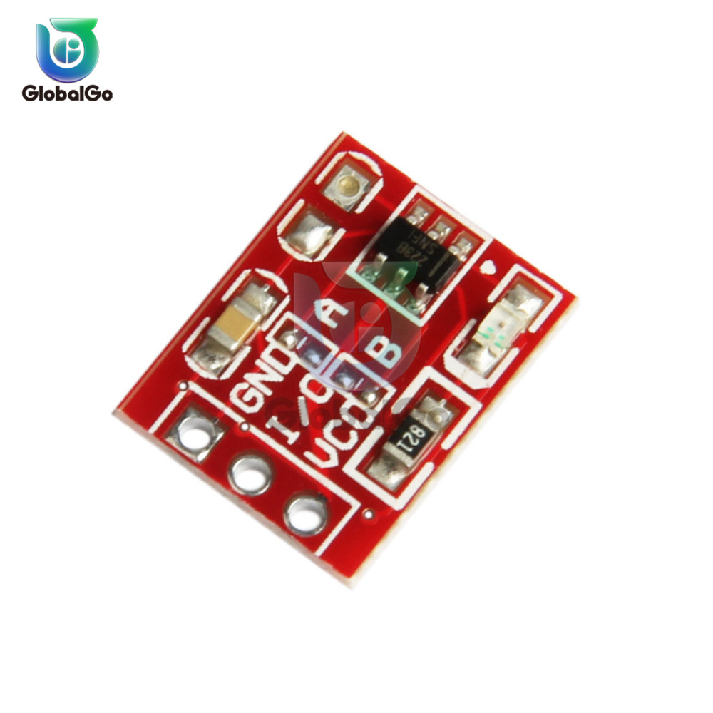 5pcs/Lot TTP223 Key Touch Button Module 1 Single Channel Self-Locking/No-Locking  Capacitor Touch Switches Sensor