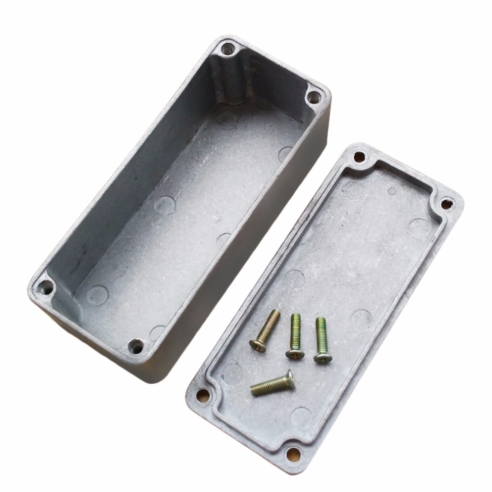 1Pcs Aluminum Stomp Box Effects 1590A Style Pedal Enclosure FOR Guitar sell korg px st pandora stomp