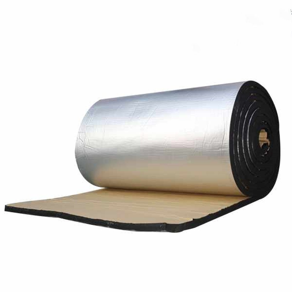 Car Heat Shield Insulation Sound Deadener Mat Aluminum Foil Car Sound Deadener Noise Insulation Acoustic Dampening Foam
