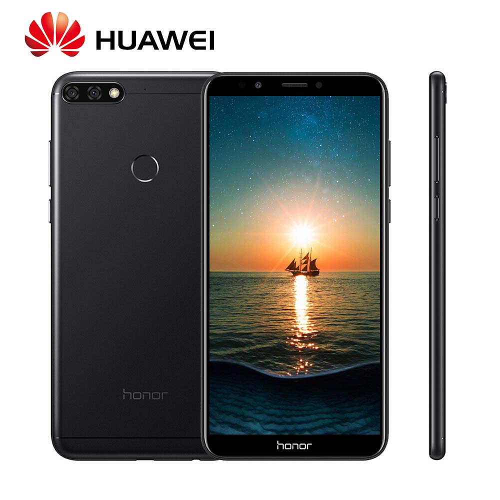 Mondial Rom Huawei Honor 7C Android 8.0 13MP + 2MP Double Rea Caméra Snapdragon450 Mobile Téléphone