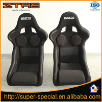 2 Pcs/lot High quality Sport Racing Car Seat Black Red Seat for Porsche Cayenne