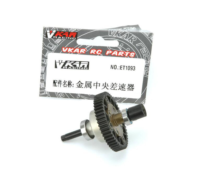 Central Differential Gear for VKAR BISON V2 RC Racing Car Monster Truck Upgrade Parts Diff Gear ET1093 hsp 02024 differential diff gear complete 38t for 1 10 rc model car spare parts fit buggy monster