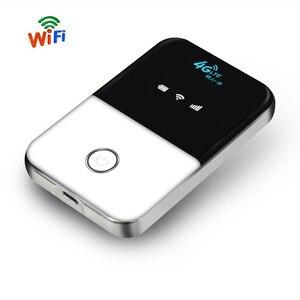 TianJie 4G Lte Карманный Wifi роутер автомобильный мобильный Wifi точка доступа беспроводной широкополосный Mifi разблокированный модем роутер 4G со сл...