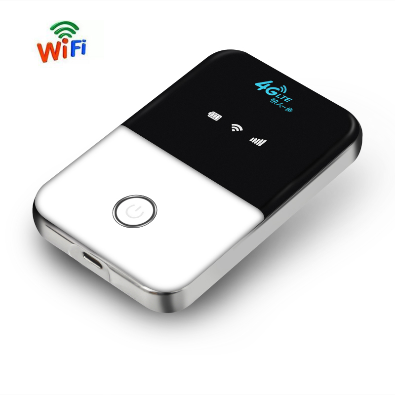TianJie 4G Lte Pocket Wifi Router Car Mobile Wifi Hotspot Wireless Broadband Mifi Unlocked Modem Router 4G With Sim Card Slot image
