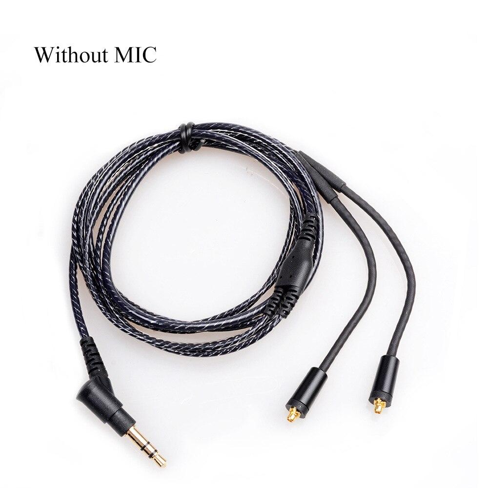 OKCSC Ersatz Kopfhörer Kabel MMCX jack Kopfhörer Kabel 3,5mm stecker für SONY XBA-Z5 SHURE SE215/315/535 /846/UE900 Keine mic