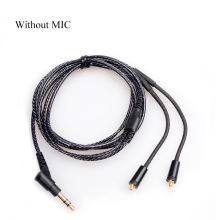 лучшая цена OKCSC DIY MMCX jack Updrade Cable Earphone Hadphone Cable for SHURE  SE425 SE535 SE315
